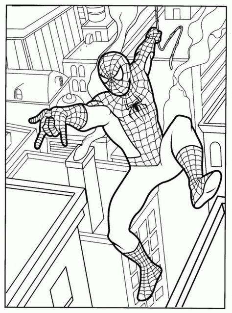 Spiderman Free Coloring Pages 3 10766 Criancas Para Colorir