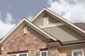 Image Result For Light Brick Sage Hardiplank Sand Provia Windows House Exterior Vinyl Siding Board And Batten Exterior