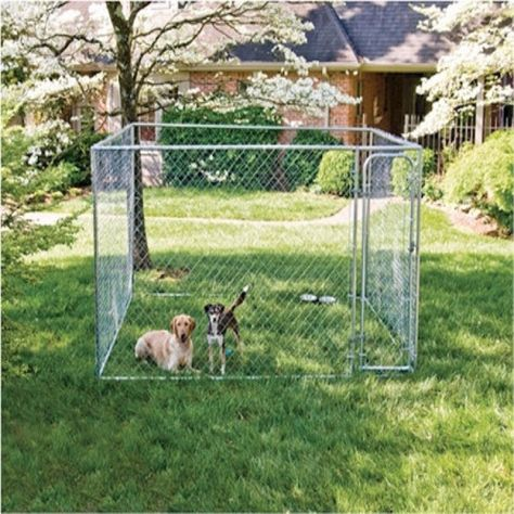 Dog Kennel 10 X 10 X 6 Bd Luxe Dogs Supplies Dog Kennel Outside Dogs Dog Kennel Cover