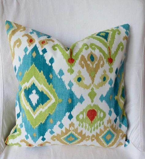 sale outdoor pillow only four left ikat outdoor pillow ikat pillow rh pinterest ru