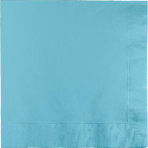 Pastel Blue Lunch Napkins (...