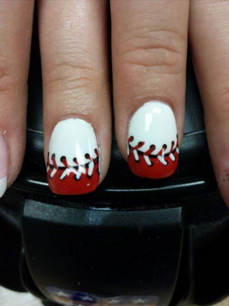 20 Baseball Nail Art Designs Baseball Designs