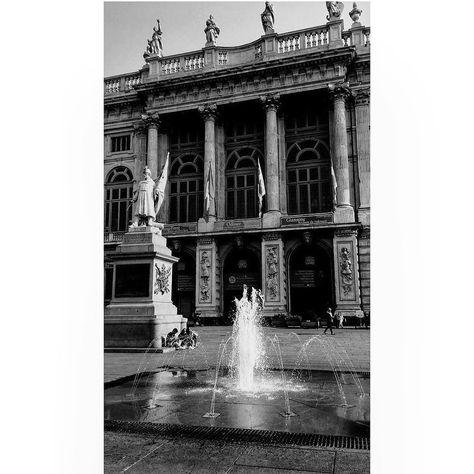 igersitalia Palazzo Madama #blackandwhite...