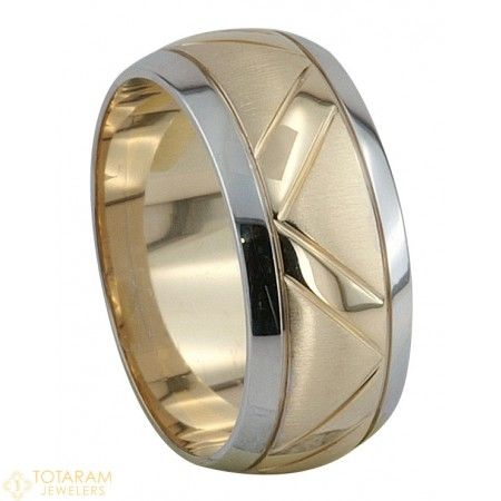 Womens Wedding Band Ring In 22K Gold