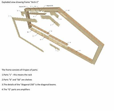 House Prefab Frame Kit Diy Building Plywood 79m2 850sq Ft