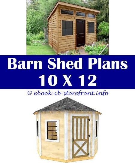 Pin Op Outdoor Storage Shed Plans
