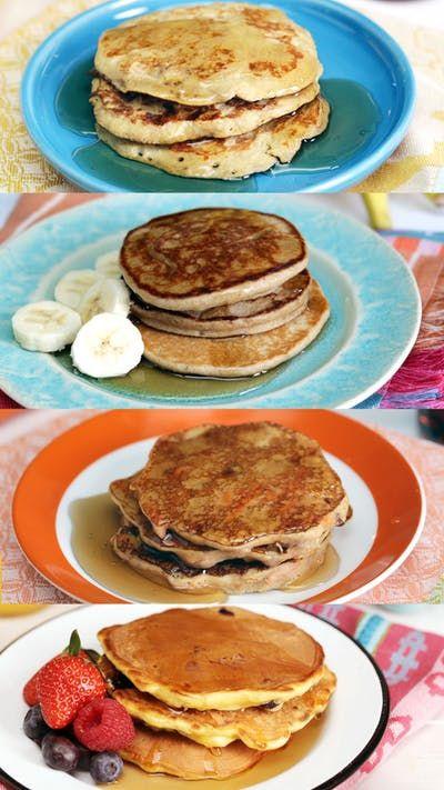 4 Pancake Sehat Dan Sederhana Resep Resep Ide Makanan Makanan Hidangan Penutup