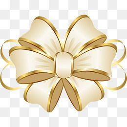 Cartoon Gold Ribbon Bow Ribbon Clipart Bow Clipart Golden Png And Vector With Transparent Background For Free Download Ribbon Png Bow Clipart Ribbon Bows