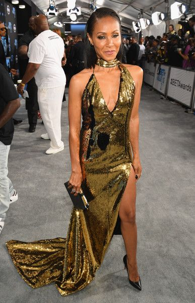 Jada Pinkett Smith attends the 2017 BET Awards.