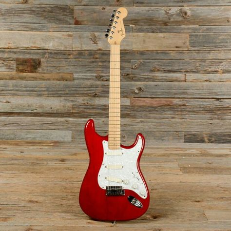 1996 Fender Stratocaster Plus Candy Apple Rare