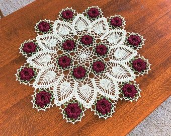 Pin By Rocelita Alves On Eu In 2020 Crochet Doilies Doilies Colored Doilies