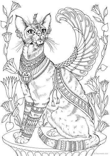 FREE Ancient Egyptian Coloring Sheets   499x353