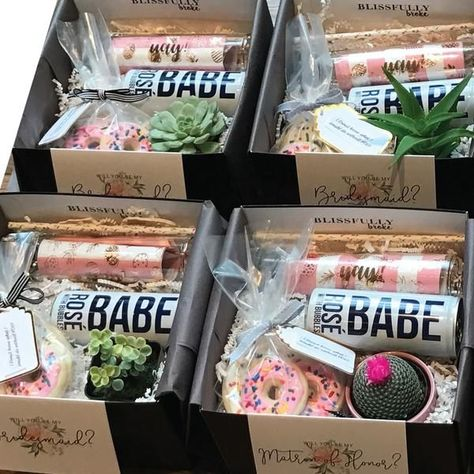 Succulent box for your bride tribe.
