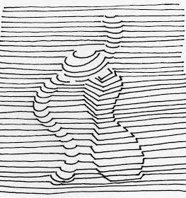 De Dibujo Artistico Y Color Generacion De Volumen Mediante El Uso Exclusivo De La Linea Linea De Contorno Papel De Dibujo Cosas De Dibujo