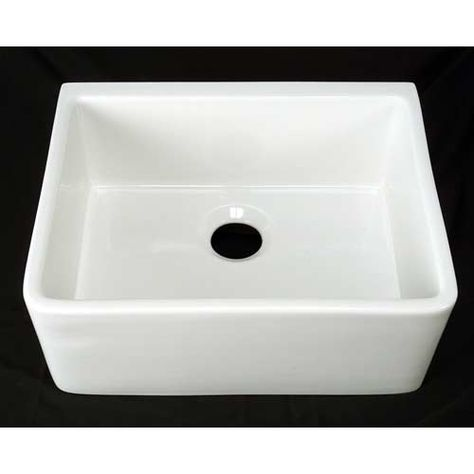 24 Inch White Farmer Sink Apron Front Sink Farmhouse Sink