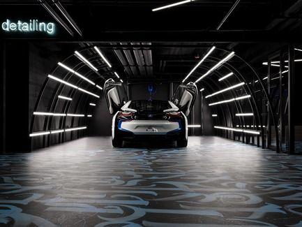 Black Star Car Wash Gretaproject Car Showroom Design Car Wash Car Showroom Interior