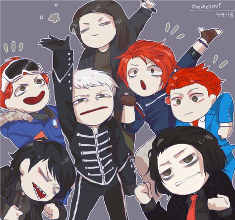 happy birthday to all the Gerard Ways
