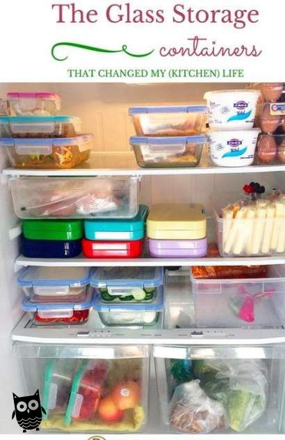 70 Ideas For Glass Food Storage Containers Refrigerators
