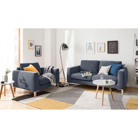 Sofa Berilo 2 Sitzer Zweisitzer Sofa Wohnzimmer Modern Sessel
