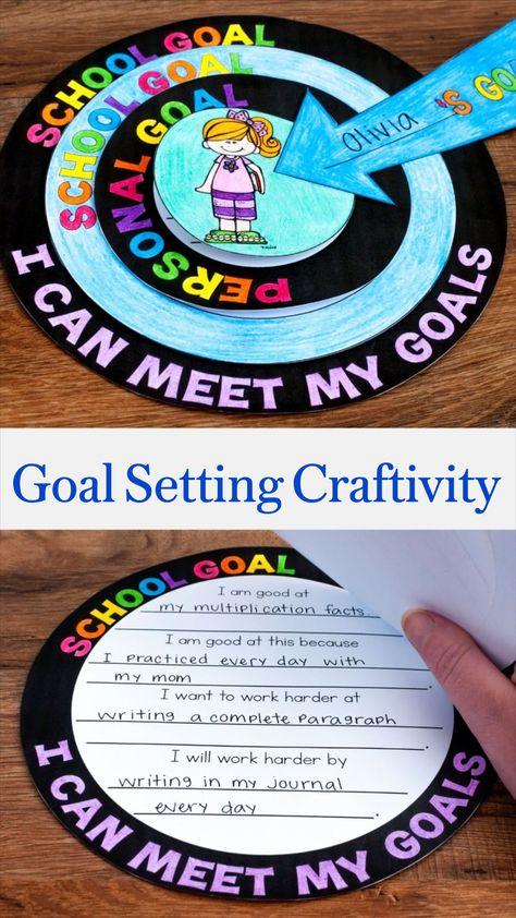 Goal Setting Craftivity