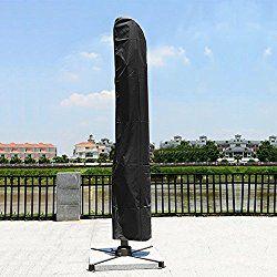 Large Cantilever Parasol Umbrella Zipped Patio Garden Furniture Cover Protector