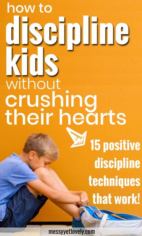 15 positive discipline techniques to discipline kids without harsh methods