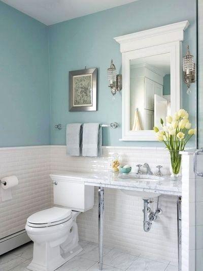 Baby Blue Bathroom Decor Luxury Bathroom Accents In The Hottest Summer Hues Green Bathroom Light Blue Bathroom Blue Bathroom Decor