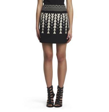Belinda Patterned Skirt - Kenneth Cole