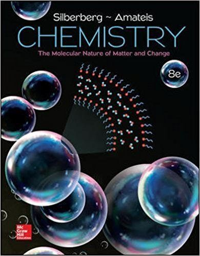 Chemistry The Molecular Nature Of Matter And Change 8th Edition Isbn 13 978 1259631757 Isbn 10 1259631753 Chemistry Chemistry Textbook Molecular