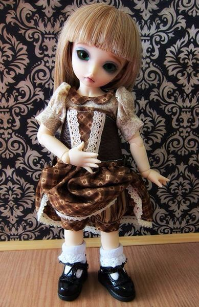 """/""""Simplicité/"""" 11 inch Ball Jointed Doll BJD Kaye Wiggs Fashion Clothing Pattern"""
