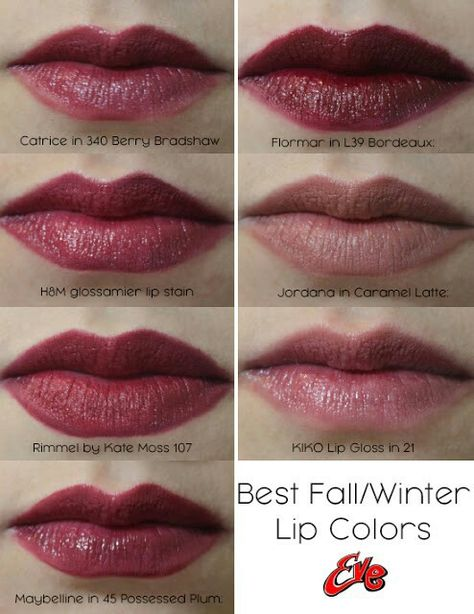 I Ve Put Together A Post About My Favorite Lip Color Options That Are Suitable For Fall Winter Season Including Lip Swatches Lip Colors Lip Stain Lip Swatches
