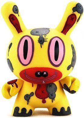 Dare Devil Wild Ones Dunny Vinyl Mini Figure by Kidrobot
