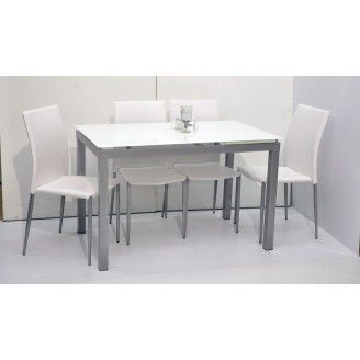 Jaime Extendable Dining Table With 4 Chairs With Images