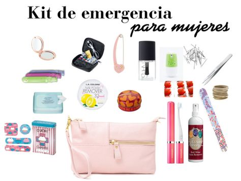 5067bc611 Kit de emergencia para mujeres, ¿qué llevarías tu?
