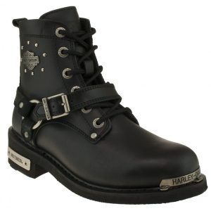 Harley Davidson Bayan Bot Becky 025z100423 Yag Blk Shoes World Calca