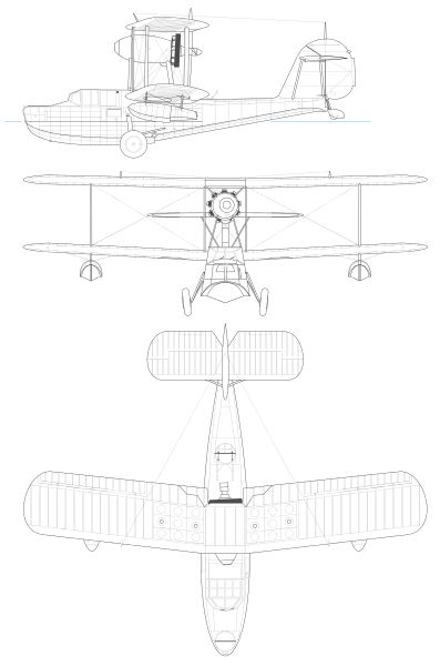 File:Supermarin Walrus 3-view.svg