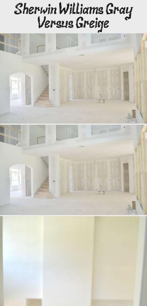 Sherwin Williams Gray Versus Greige Sherwin Williams Gray Best Gray Paint Color Open Space Living #requisite #gray #living #room