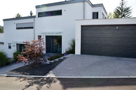 Heim Galabau Moderne Gartengestaltung am Hang Haus Pinterest - garageneinfahrt am hang