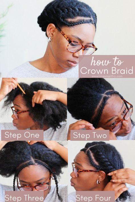 Crown Braid Crown Braid For Natural Hair Crown Braid Natural