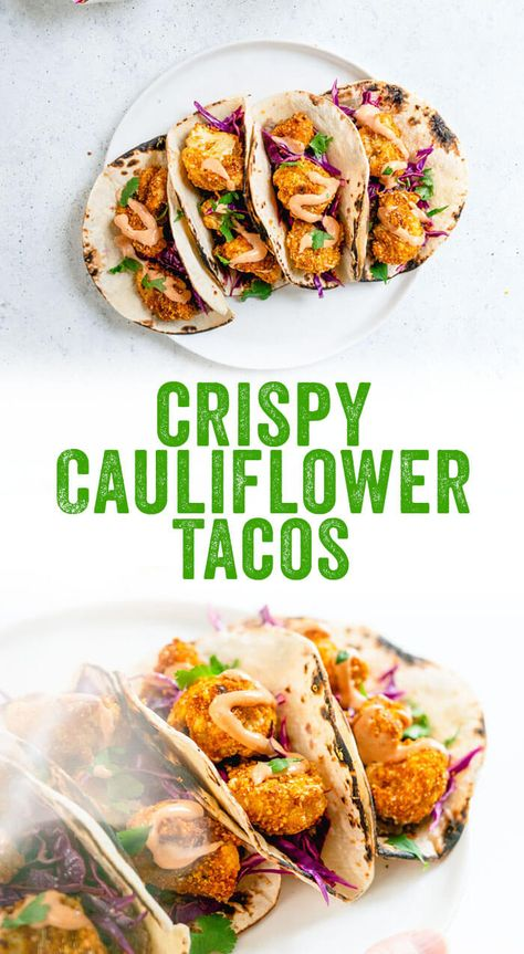 Cauliflower Tacos with Yum Yum Sauce – A Couple Cooks
