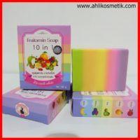 Fruitamin Soap : Sabun Pemutih Kulit dan Menghilangkan Jerawat Original Thailand