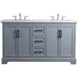Gray Double Sink Bathroom Vanity Under 1000 White Vanity