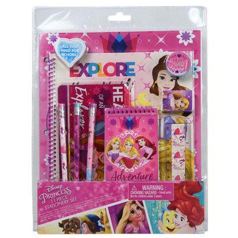 Disney Princess Girls Stationery Set 14 99 Stationery Set Girl Stationery Disney Princess Gifts