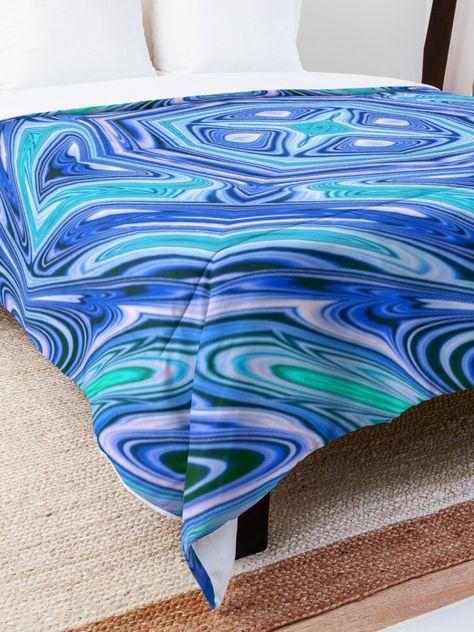 Psychedelic tiles 34: Tile design in psychedelic style. #comforter #psychedeliccomforter #psychedelic #bedroomdecor #bedroomcomforter #beddingideas #masterbedroomideas #bedideas #cr6zym1nd #bluecomforter #findyourthing
