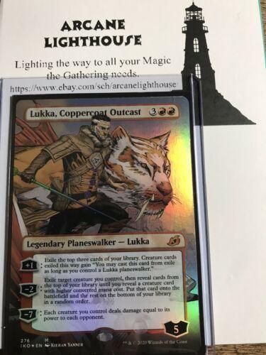 The Gathering MTG Ikoria Foil Lukka Coppercoat Outcast M//NM Magic