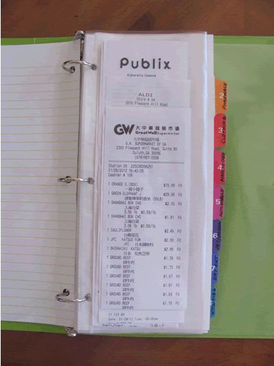 Organize your receipts the easy way