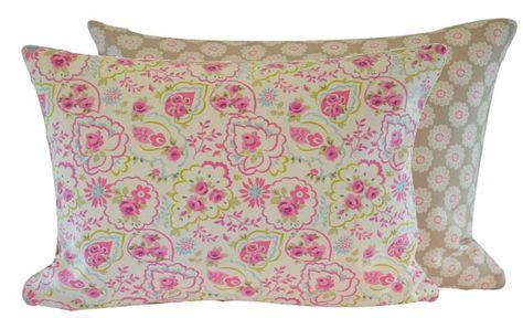 Piccoli Cuscini.Cuscino A Piccoli Fiori Rosa Shabby Chic Cm 35 X 45 Federe