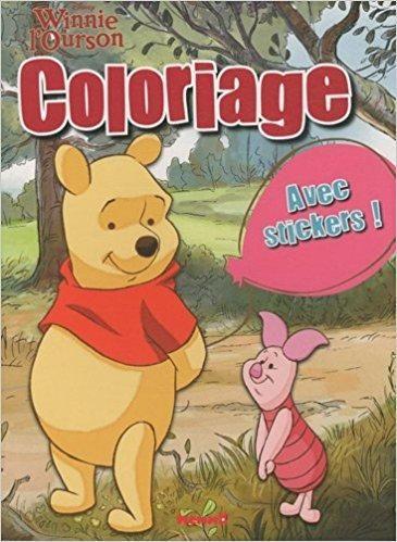 Télécharger Coloriage Winnie L Ourson Avec Stickers
