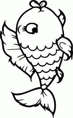 Slim Fit Jeans Fur Damen Fish Coloring Page Coloring Pages