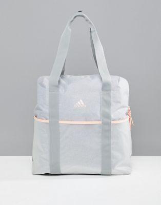adidas Training Tote Bag In Grey | Bags, Tote bag, Purses